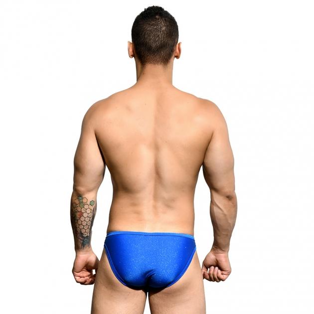 7682-Sparkle-三角泳褲(藍) 2